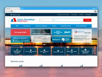 Портал «Государственные и муниципальные услуги (функции) в Санкт-Петербурге»